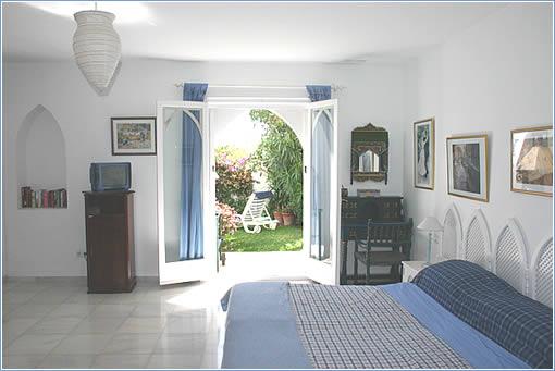 Bedroom - Doors to Private Garden