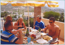 Previous Guests on the Terrace