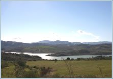 Lake Vinuela - View 2