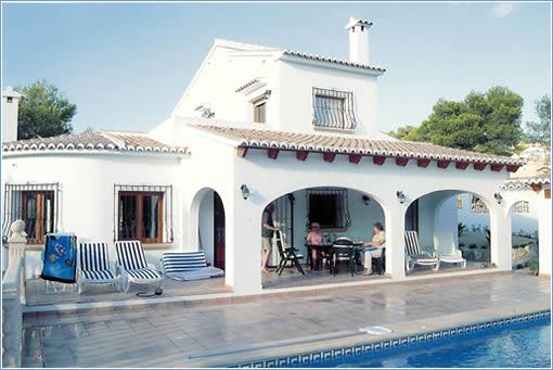 Rent Javea Villa