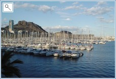 Alicante Marina & Castle