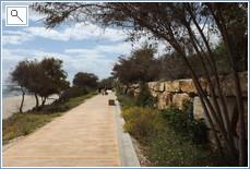 Promenade between Calanonda &  Cabopino Marina