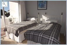 2nd Bedroom with Full En-Suite, Terrace &  English Beds