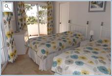 3rd Bedroom,  En-Suite Shower Room, Terrace & English Beds