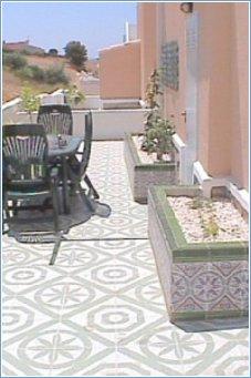 Aum Villa back patio