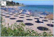 Riviera del Sol beach in December