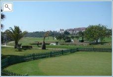 Duquesa Golf.  5 minute walk. lovely food on terrace