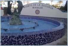 Duquesa Marina.  So much choice to eat and drink & relax