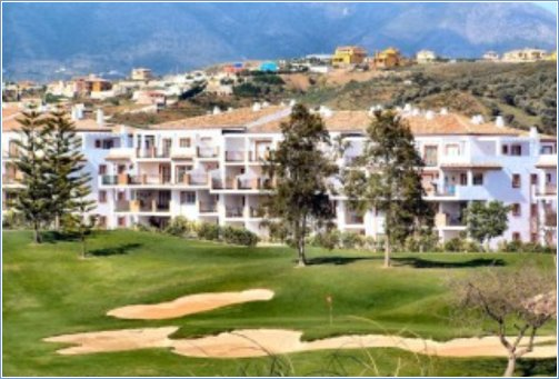 Terrace view of Mijas Golf