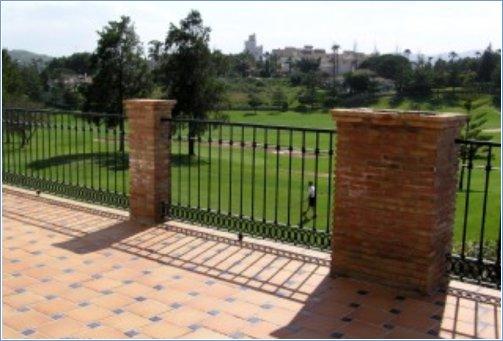 Terrace view of Mijas Golf