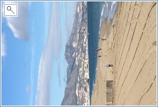 Fuengirola beach in January!
