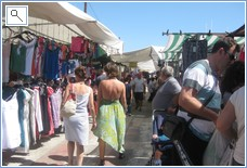 Grab some bargains at the Sunday market in Villaricos