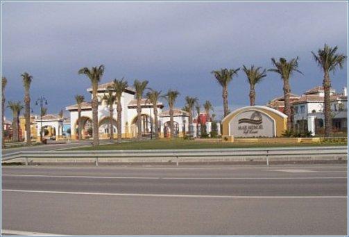 Main Entrance of Resort