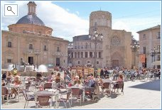 Places to visit: Miguelete, old town
