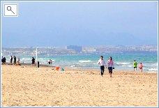 Los Arenales beach