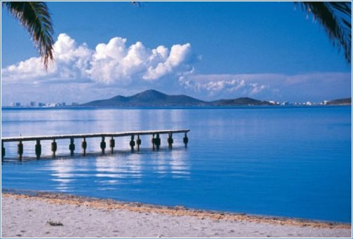 Mar Menor beaches 15 mins away