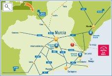 Hacienda Riquelme Location Map
