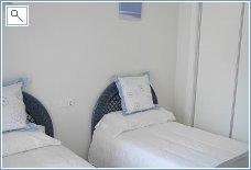 Guest bedroom, wardrobes