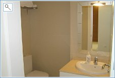 Family shower-room, basin and WC
