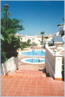 View of Smaller Swimming Pool