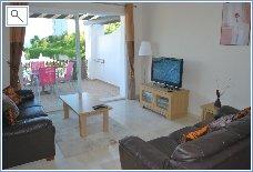 Lounge with flat screen TV, DVD, Sky & Wifi