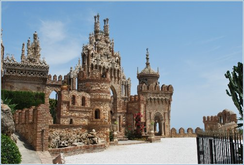 Castillo Monument at Benalmadena