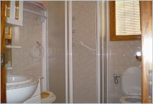 Upstairs shower bathroom