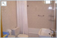 Downstairs bath/shower room