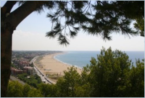 Castelldefels beach