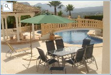Rent Villa in Calpe