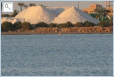 Extraction of salt from Salt Lakes