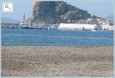 Aguilas beach -1