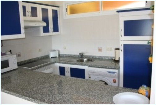 Typical 1 and 2 bed kitchen