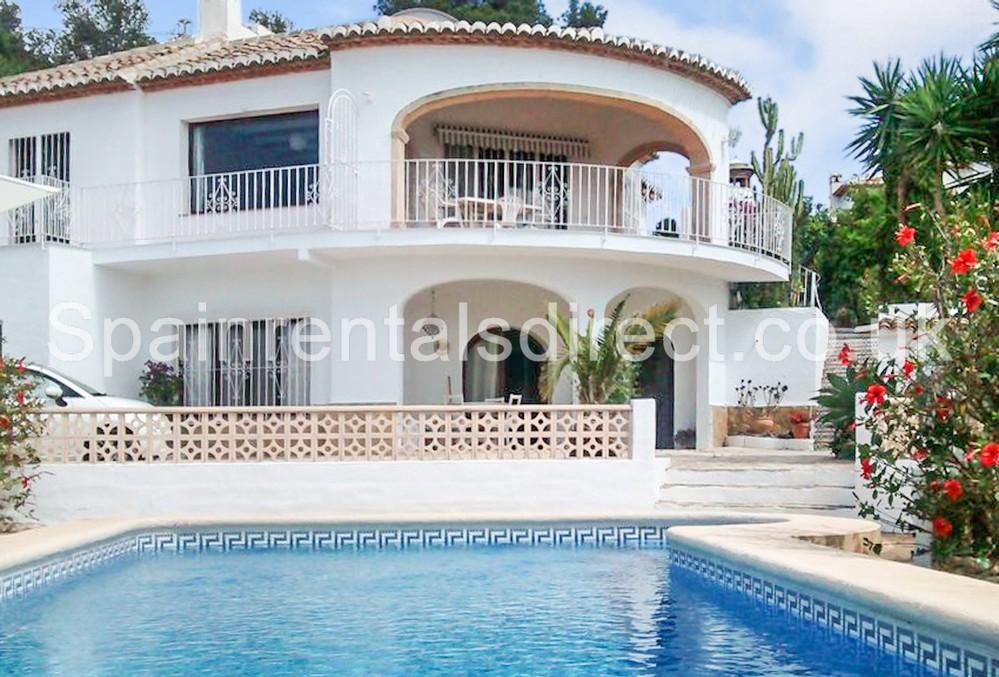 Rental Villas Javea · Rental Villas Javea Beautiful Villa Private Pool