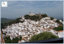 Nearby picturesque village of Casares