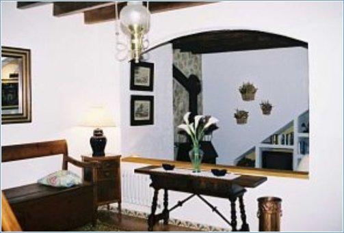 Hall-entrance & Sitting-room