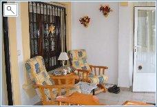 Inside sun lounge
