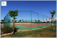 TWO FREE TENNIS COURTS AND TABLE TENNIS NEXT TO THE POOL.