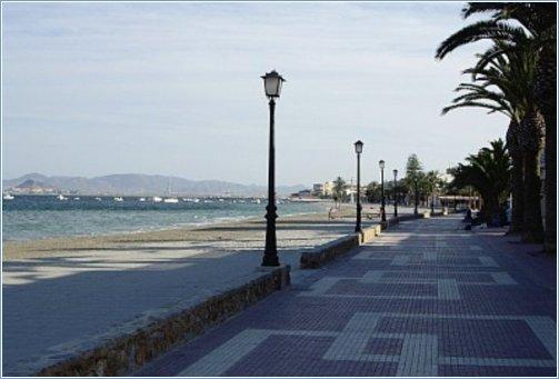 Los Alcazares Promenade