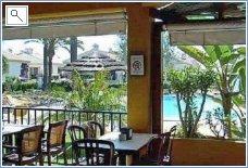 Bar on swimming pool 2