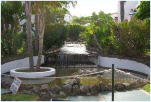 Waterfall & Garden