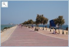 Lo Pagan beach on Mar Menor