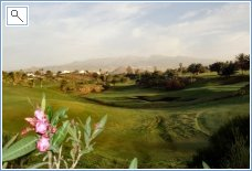 a view of golf del sur Course
