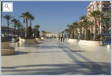 Torrevieja Beautiful New Promenade
