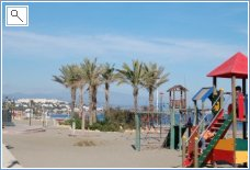 Play area for children on Sabinillas sea front