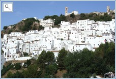 mountain village of Casares