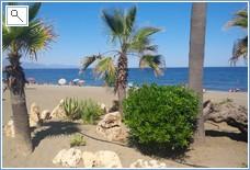 Beach in Sabinillas