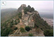 Xativa castle - stunning veiws