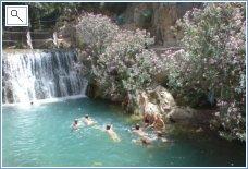 The waterfalls at Callosa d'en serr