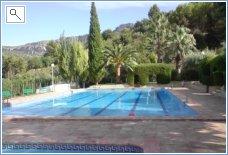 Open air pool at Vall de Gallenera